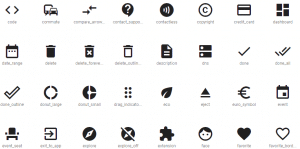 materials icon by google