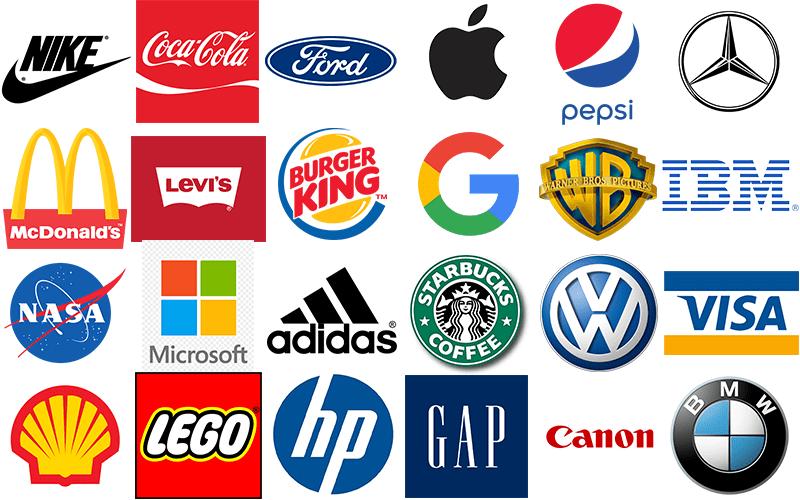 25 لوگو مشهور جهان