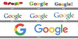 سیر تحول لوگو گوگل