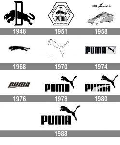 تاریخچه لوگو پوما