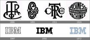 آرم ibm از گذشته تا امروز