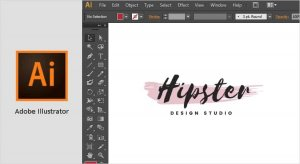 نرم افزار طراحی لوگو illustrator
