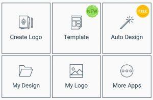 اپلیکیشن طراحی لوگو رایگان