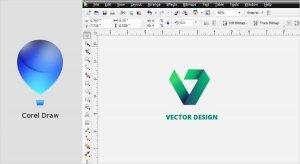 نرم افزار طراحی لوگو Corel Draw