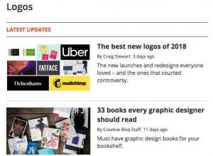 ایده طراحی لوگو در creative bloq