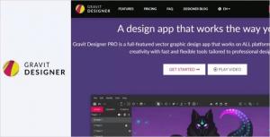نرم افزار طراحی لوگو gravit designer