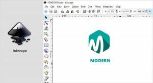 نرم افزار طراحی لوگو inkscape
