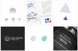 ایده طراحی لوگو در learn logo design