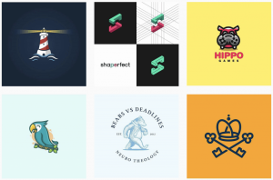 ایده طراحی لوگو در logoroom