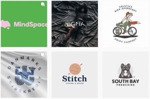 ایده طراحی لوگو در logos.ai