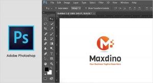 نرم افزار طراحی لوگو photoshop