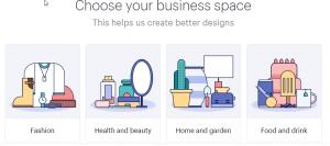 طراحی لوگو آنلاین در hatchful