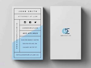 موارد مهم در طراحی کارت ویزیت