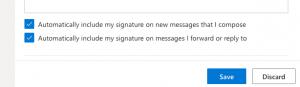 افزودن لوگو به امضا ایمیل