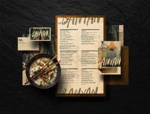 آموزش طراحی منو رستوران