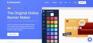 طراحی بنر آنلاین در bannersnack