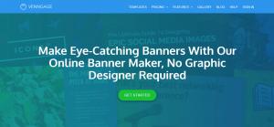طراحی بنر آنلاین در venngage