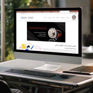 طراحی بنر فروشگاه اینترنتی ساعت